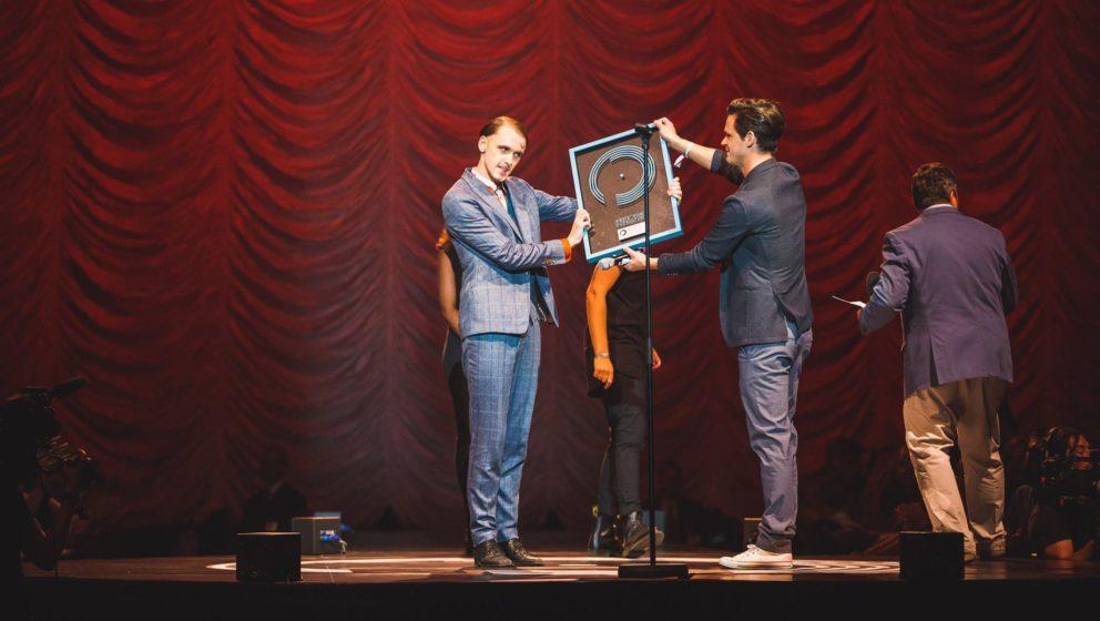 """Konnte sich im letzten Jahr über den Preis freuen: Max Gruber a.k.a. Drangsal, der """"hoffnungsvollste Newcomer"""" des Jahre"""