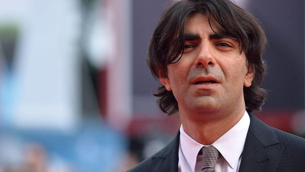 Turkish director Fatih Akin arrives for the screening of the movie 'The Cut' presented in competition at the 71st Venice Film