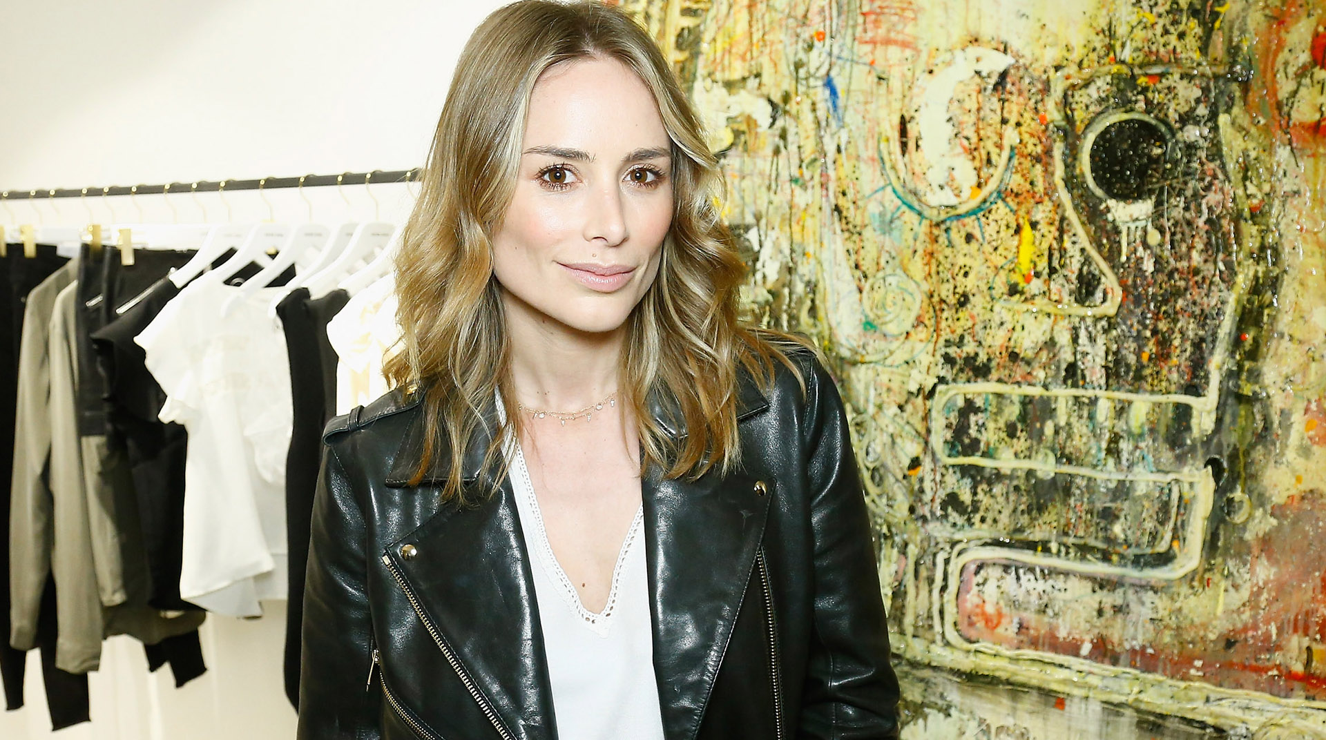PARIS, FRANCE - MARCH 05:  Danish Designer Anine Bing attends her Store Opening  as part of the Paris Fashion Week Womenswear