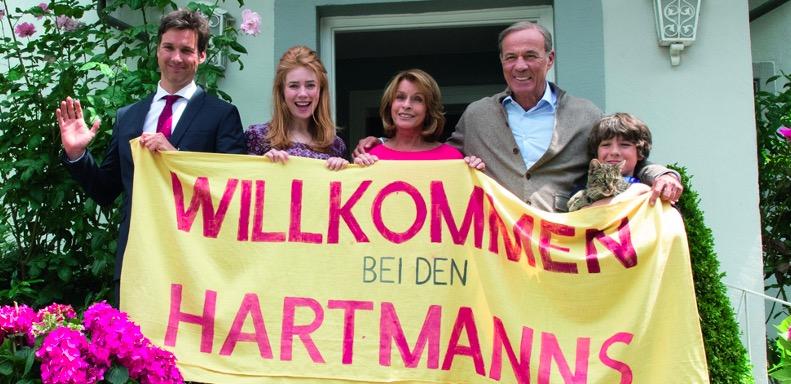 "Szene aus ""Willkommen bei den Hartmanns""."