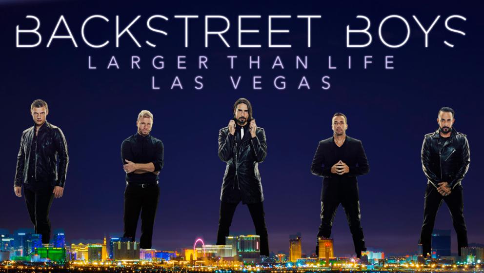 """Das Plakat für die """"Larger Than Life""""-Show"""