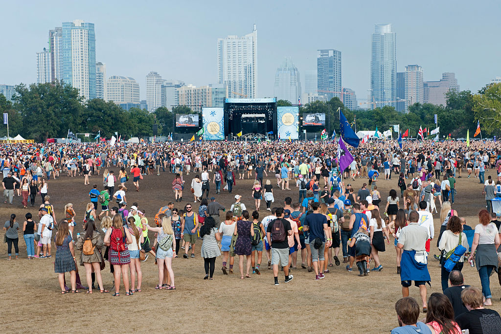 AUSTIN, TX - OCTOBER 12:  Atmosphere during Austin City Limits Festival at Zilker Park on October 12, 2014 in Austin, Texas.