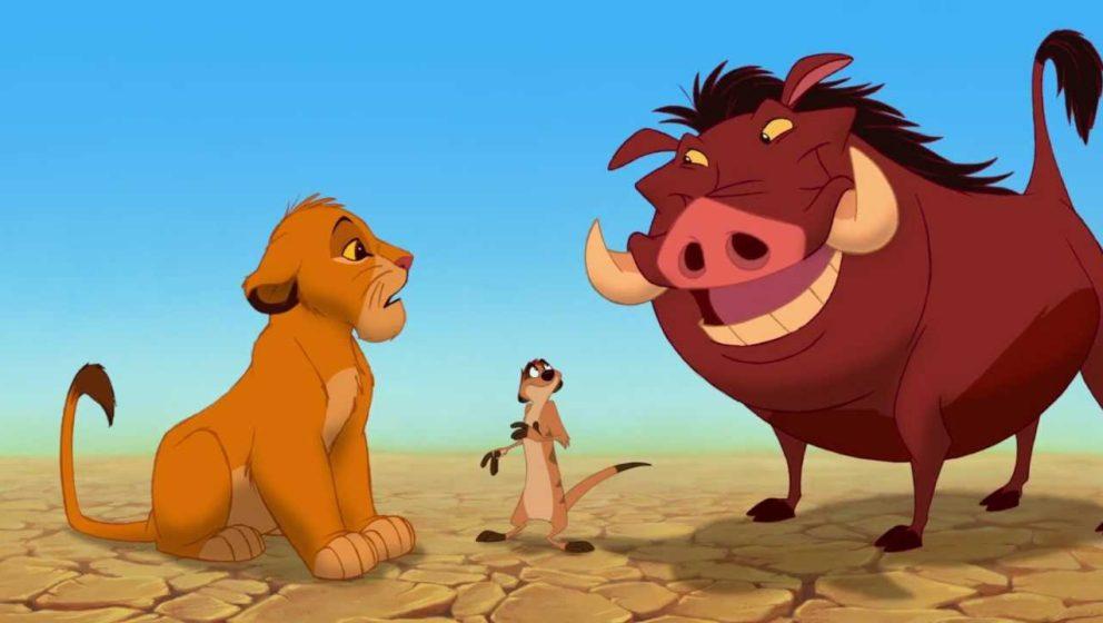 """Szene aus dem 1994er """"Der König der Löwen"""". Das Remake wird schon vorbereitet."""