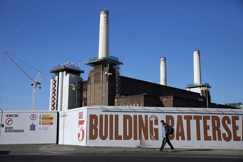 Die ikonische Battersea Power Station in London