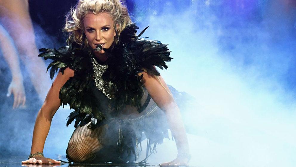 Britney Spears beim iHeartRadio Music Festival am 24. September 2016 in Las Vegas, Nevada