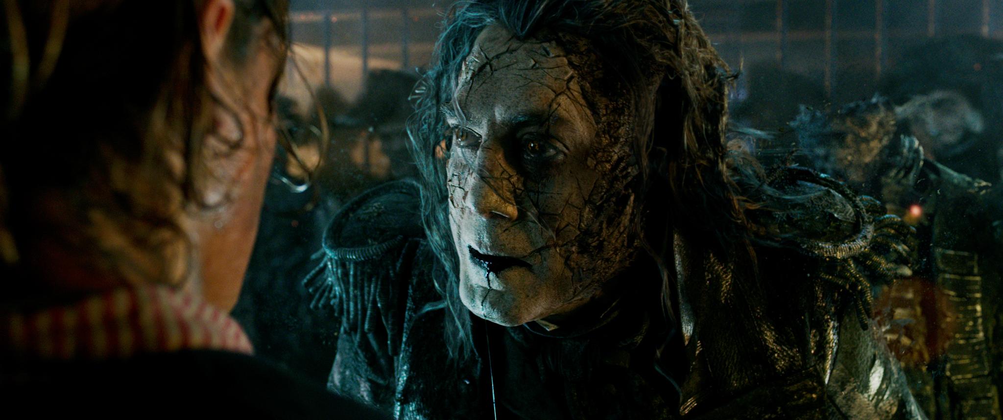 Javier Bardem als Pirat Salazar.
