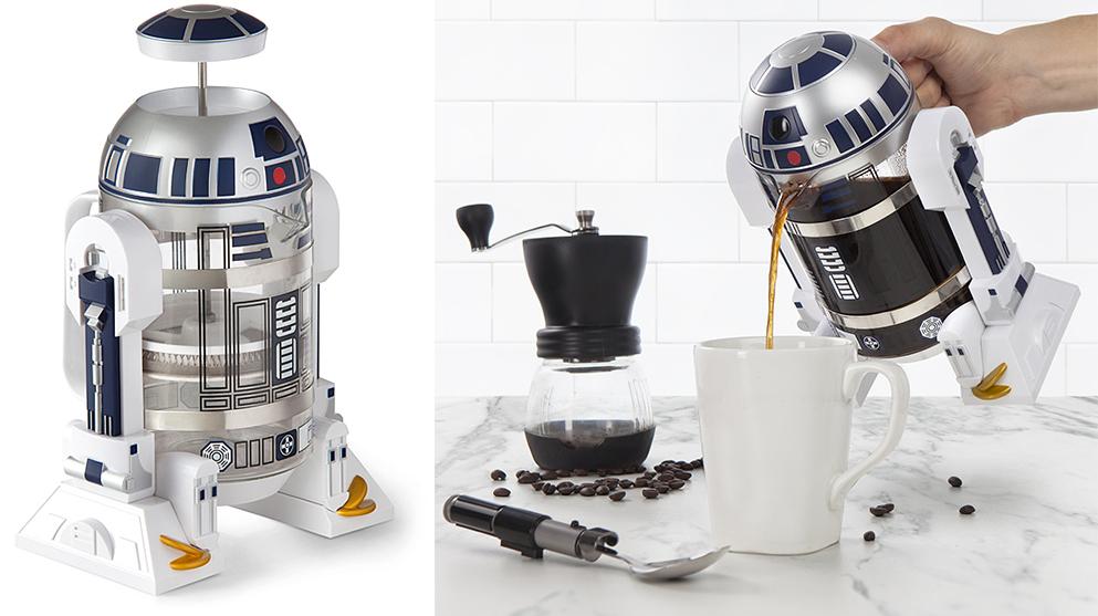 beste linderung f r den wochenend hangover die r2 d2 kaffeemaschine. Black Bedroom Furniture Sets. Home Design Ideas