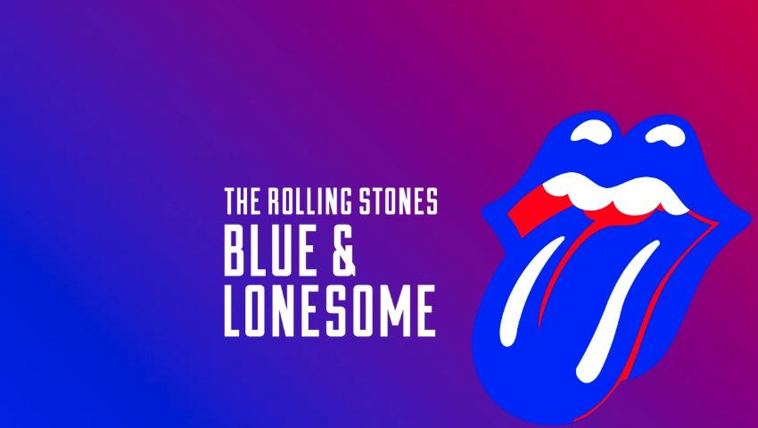 Artwork des neuen Rolling-Stones-Albums BLUE & LONESOME