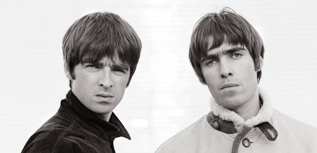 """Bild aus der Oasis-Doku """"Supersonic"""" mit Liam und Noel Gallagher"""