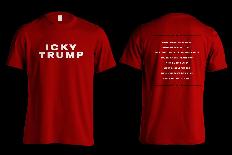"""The White Stripes vs. Donald Trump: Die """"Icky Trump""""-Shirts sind zurzeit schon ausverkauft"""