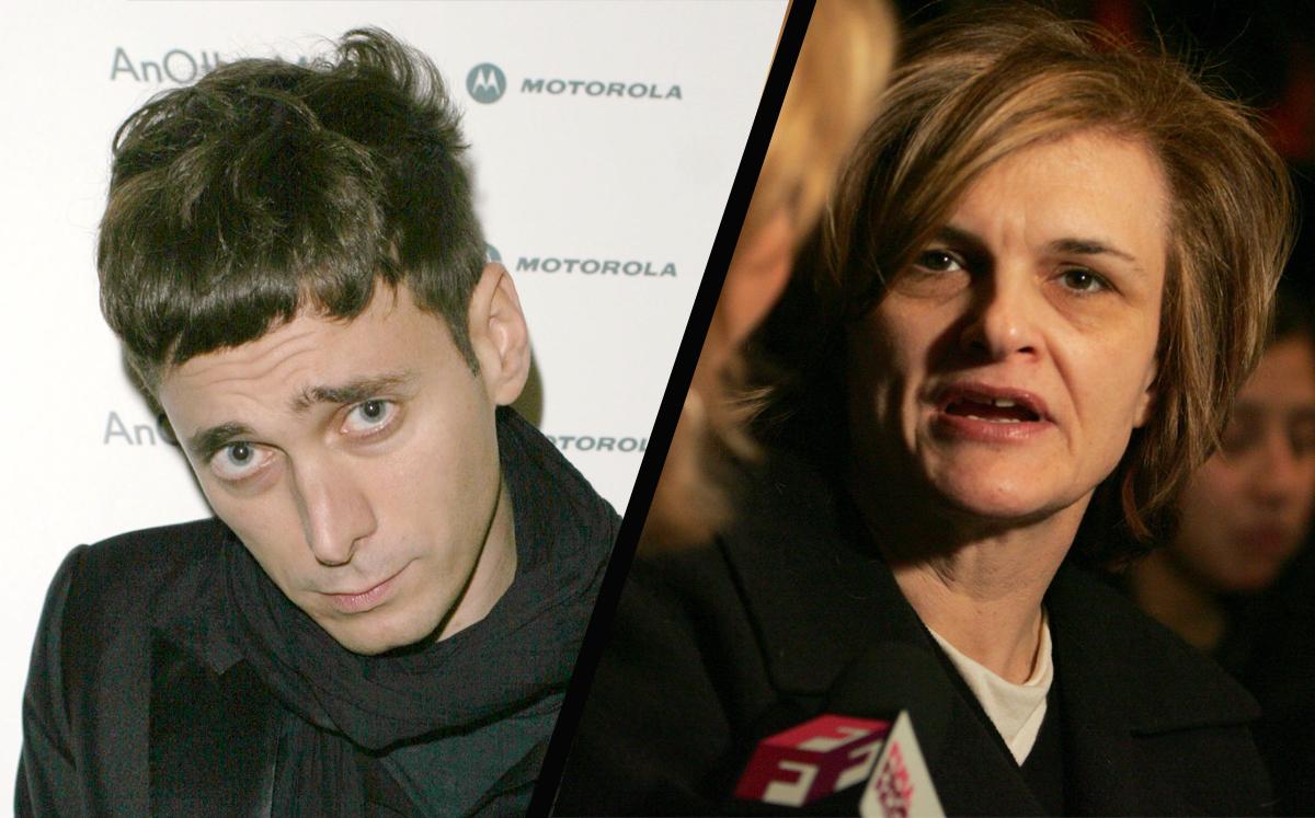 Streiten sich über die sozialen Medien: Hedi Slimani und Cathy Horyn