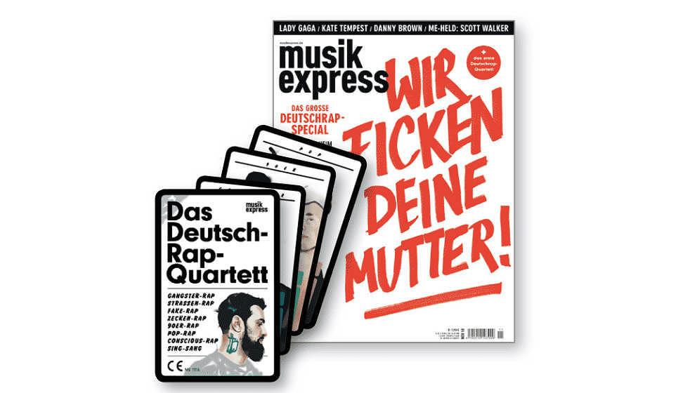 Der neue ME mit Deutschrap-Special und -Quartett – ab 13. Oktober am Kiosk.