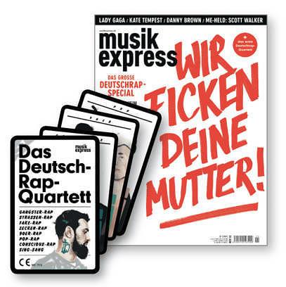 Der neue ME mit Deutschrap-Special und -Quartett