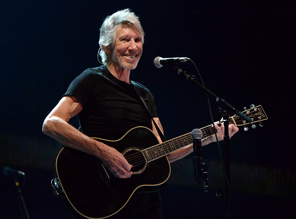 INDIO, CA - OCTOBER 09: Musician Roger Waters performs during Desert Trip at The Empire Polo Club on October 9, 2016 in Indio, California. (Photo by Kevin Mazur/Getty Images for Desert Trip)