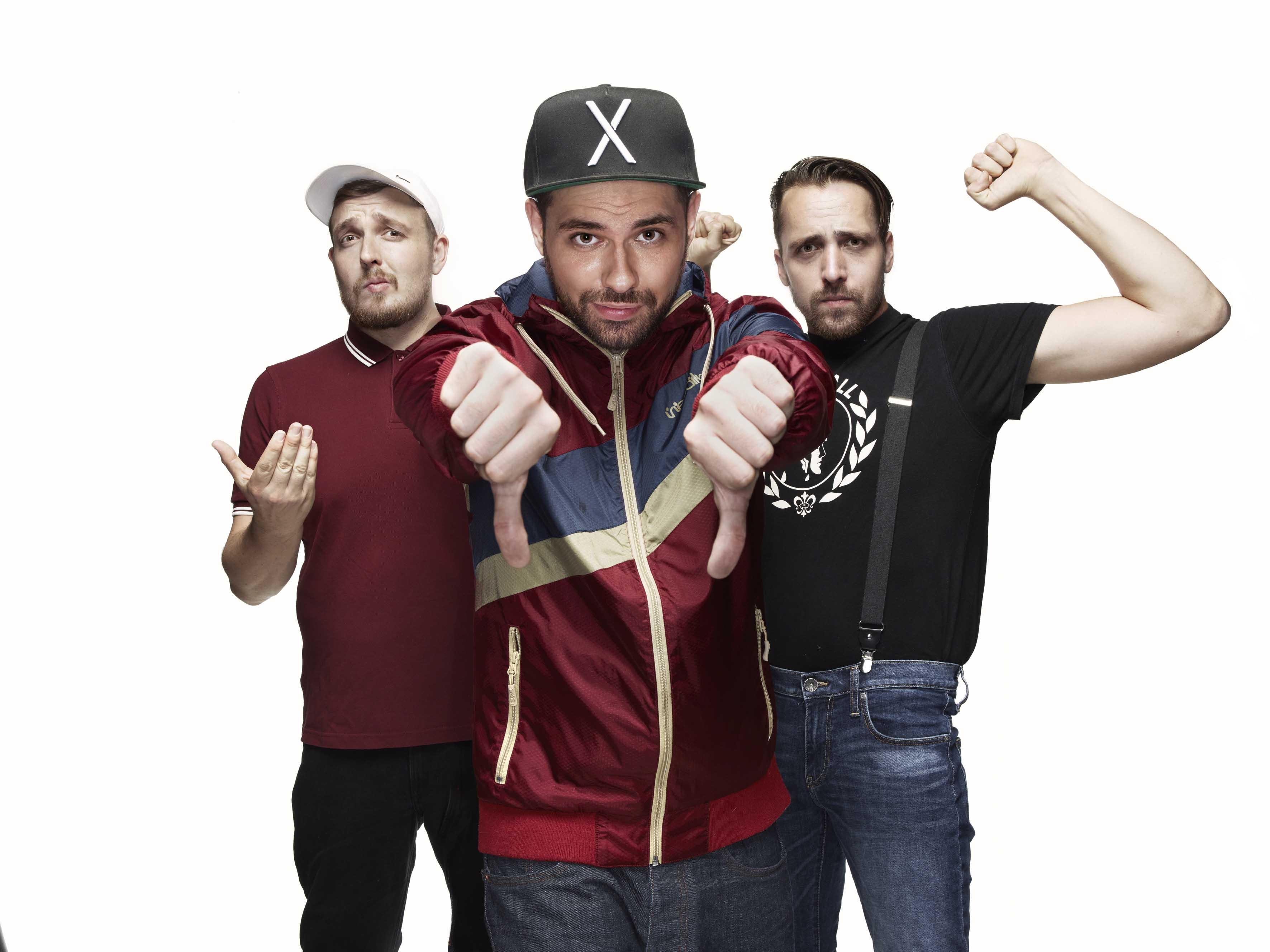 Due Antilopen Gang mit neuem Album ANARCHIE UND ALLTAG.