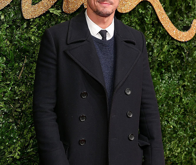 attends the British Fashion Awards 2015 at London Coliseum on November 23, 2015 in London, England.