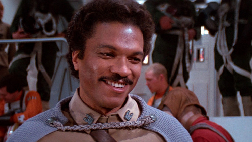 Billy Dee Williams als Lando Calrissian.