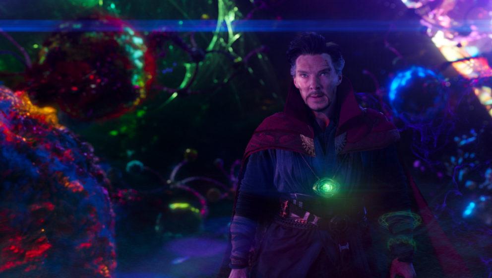 """Benedict Cumberbatch als """"Doctor Strange""""."""