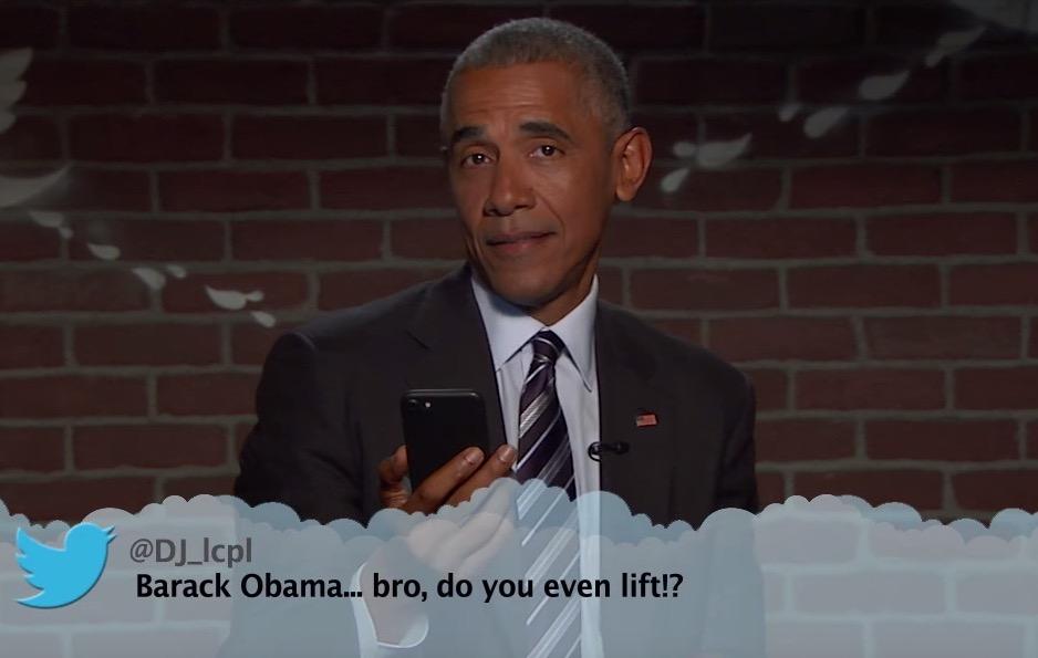 Barack Obama beantwortet Twitter-Fragen.