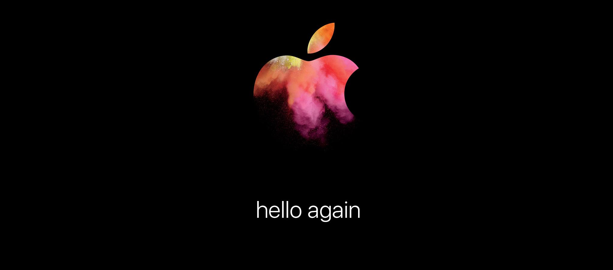 Am 28. Oktober stellt Apple um 19 Uhr das neue Macbook Pro vor.