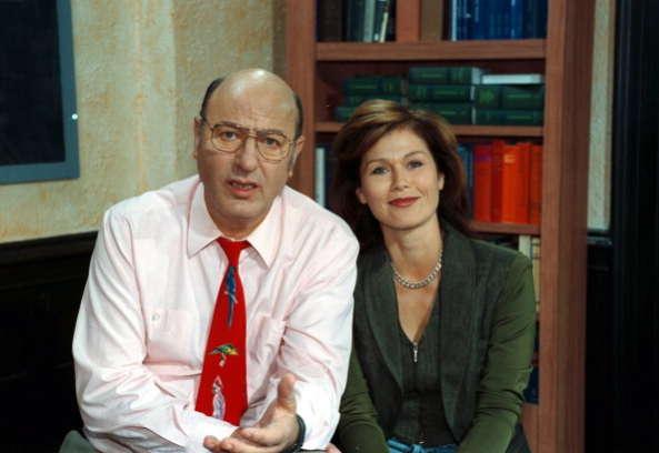 "Manfred Krug und Monika Woytowicz,in ""Liebling Kreuzberg""."