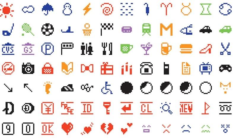 Die Originalen Emojis.