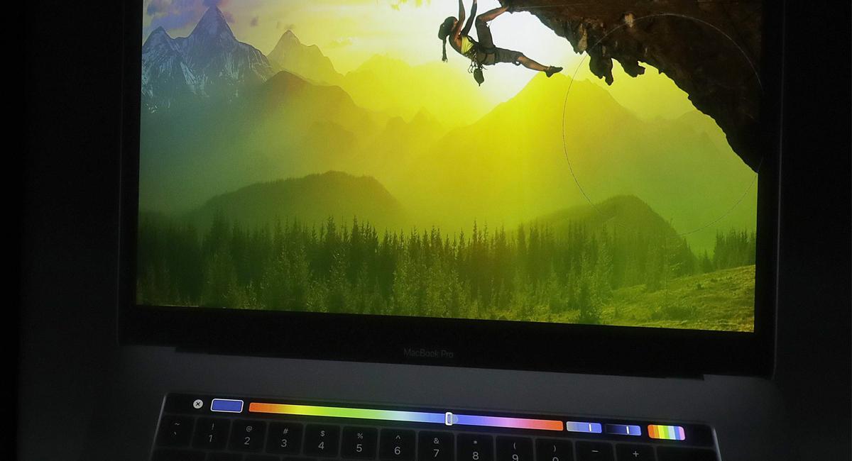 Die neue Touch Bar im Macbook Pro