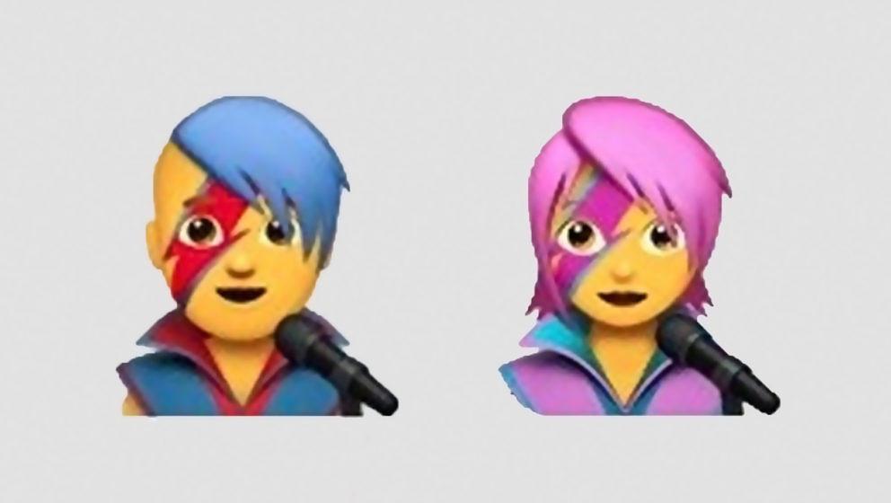 So werden die neuen Emojis unter iOS 10.2 aussehen.