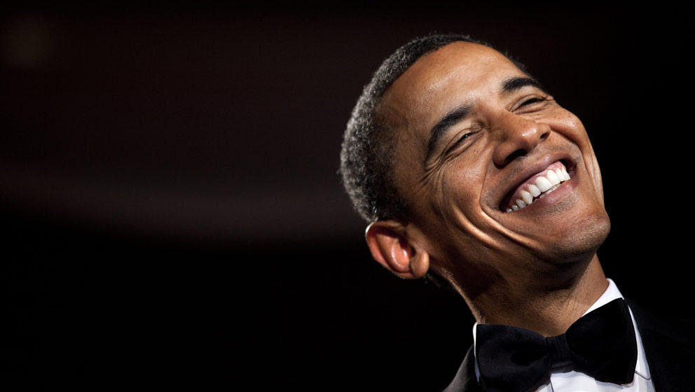 WASHINGTON - OCTOBER 29:  U.S. President Barack Obama smiles while speaking during the 36th annual National Italian American