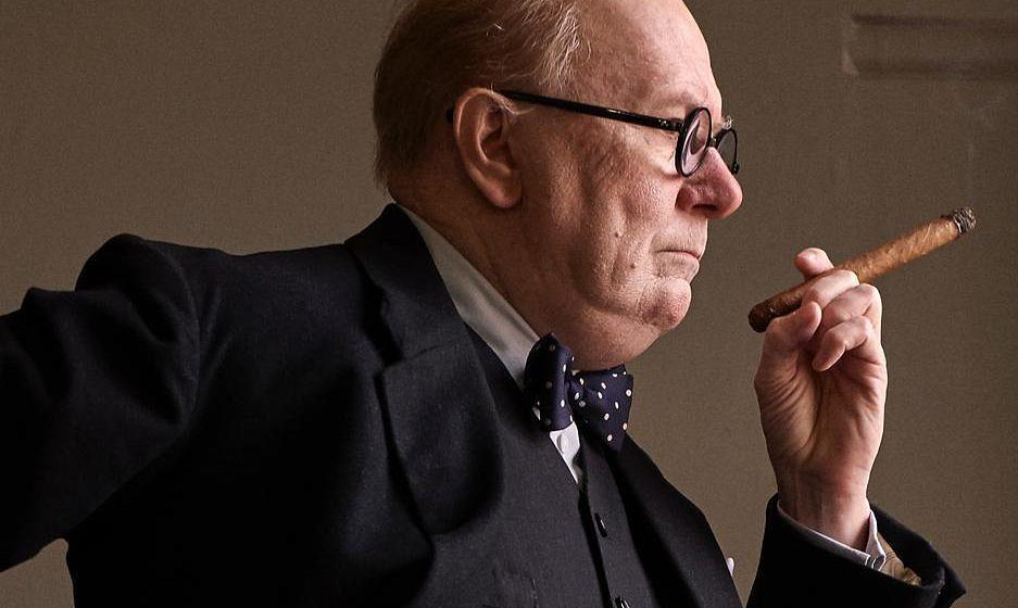 "Winston Churchill im Biopic ""Darkest Hour""."
