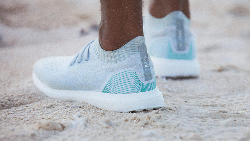 Aus dem Ocean zurück an den Strand: der Adidas Parley