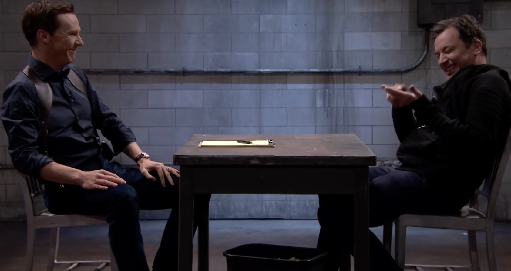 Benedict Cumberbatch bei Jimmy Fallon