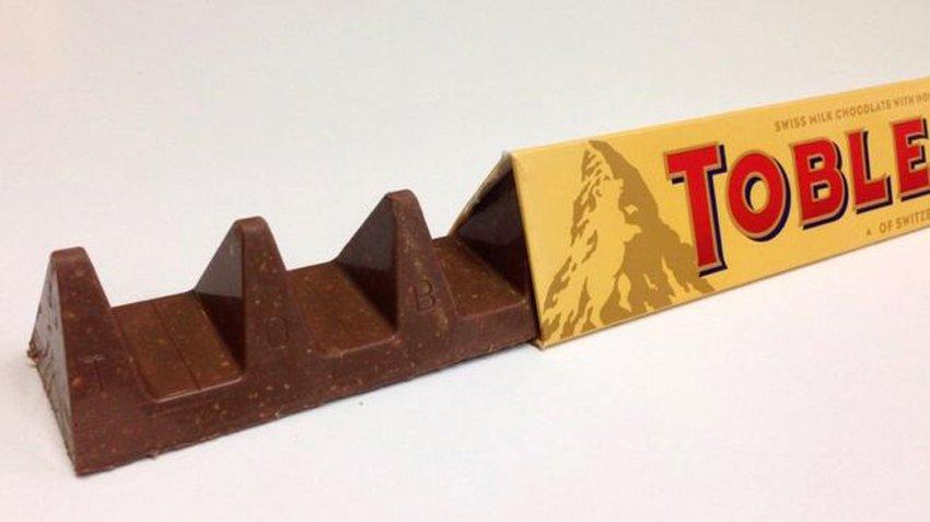 Ein neues Design für Toblerone –mit 350 statt 400 Gramm.