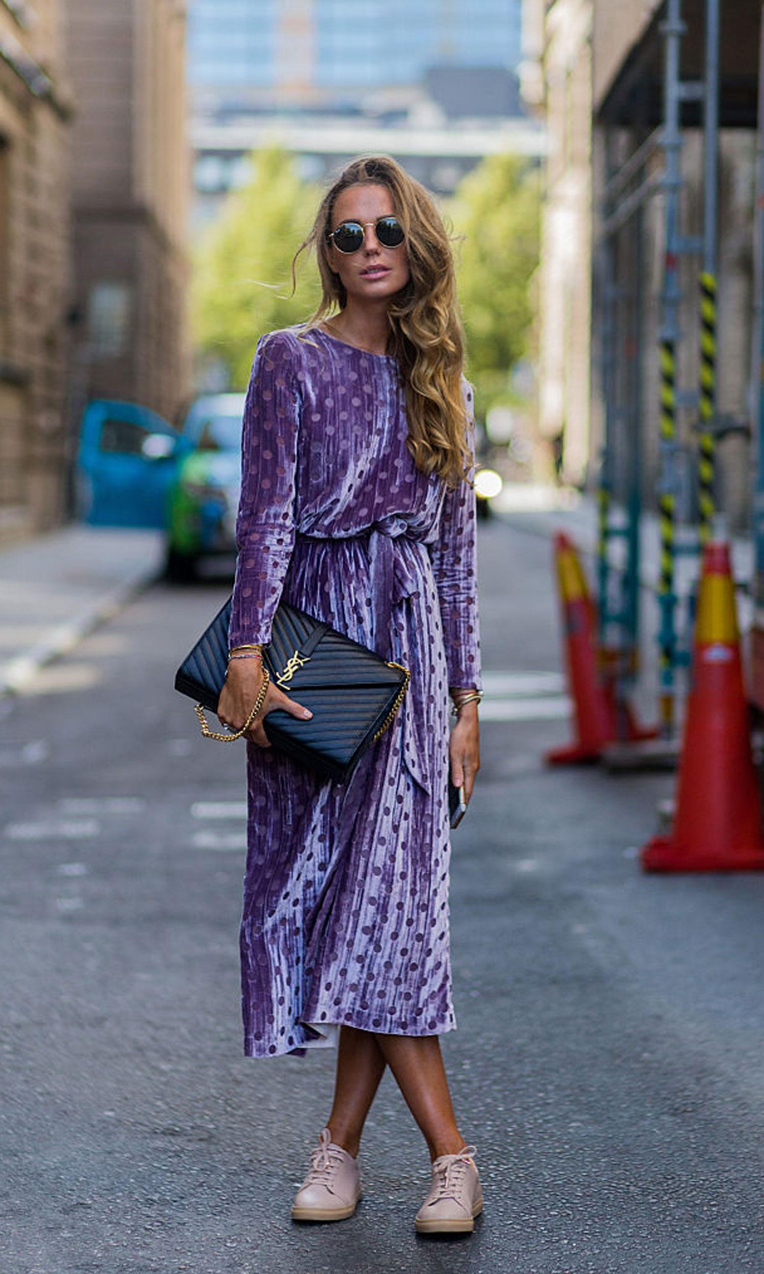 street-style-trend-samt-velvet-kleid
