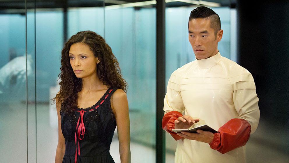 """Thandie Newton spielt die Roboter-Hure Maeve in """"Westworld""""."""