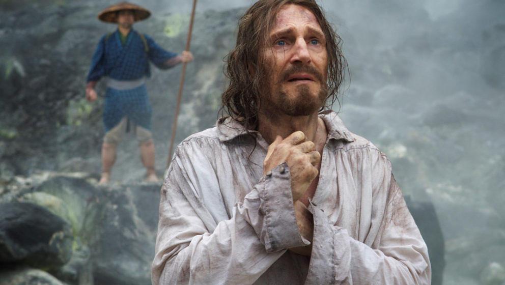 "Liam Neeson in ""Silence""."
