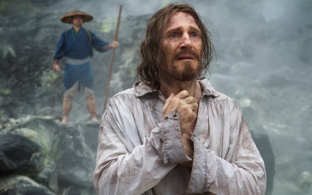 "Liam Neeson in ""Silence""."