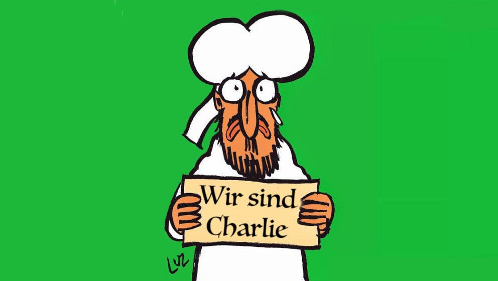Charlie Hebdo: ab Dezember auch in deutscher Sprache.