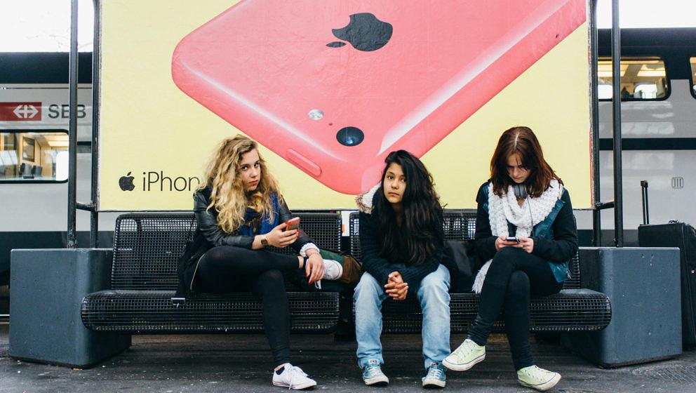 Häufiger weiblich und verlogener: iPhone-Nutzer (Symbolbild)