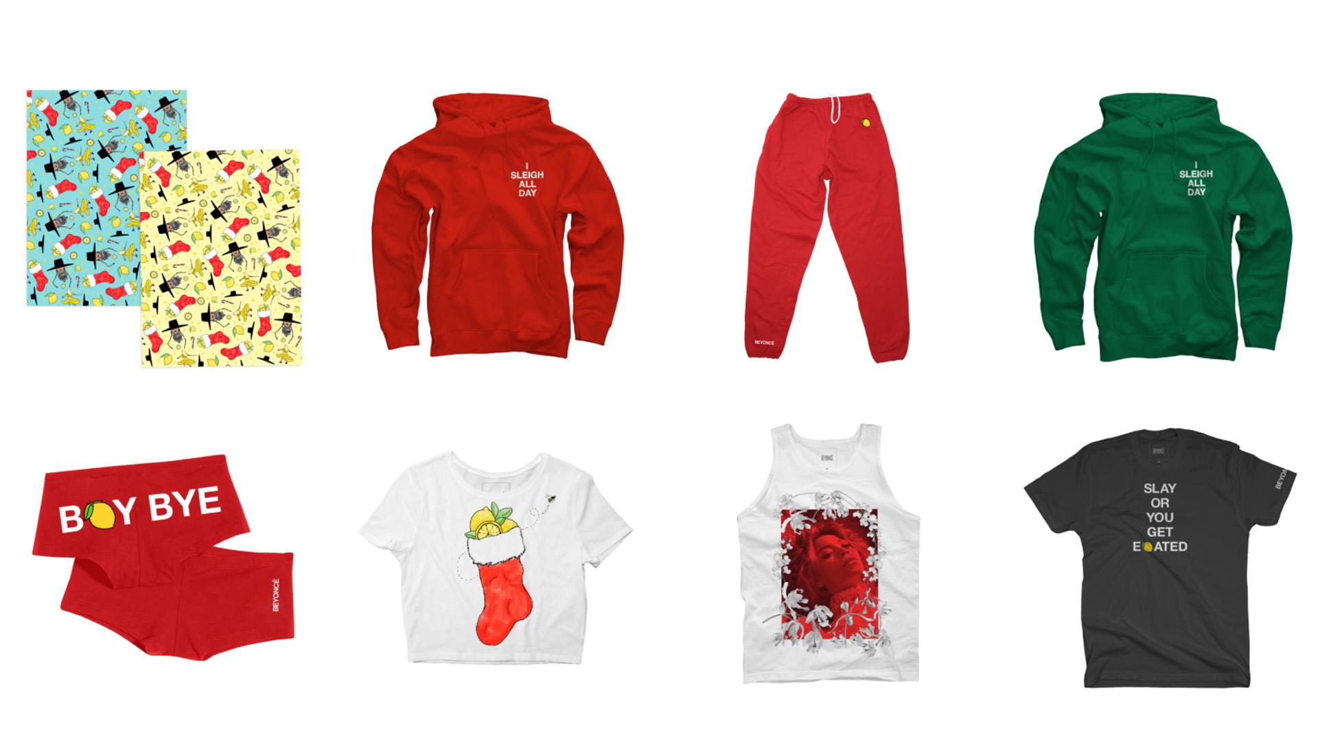 beyonce-merchandising-weihnachten-xmas-hoody
