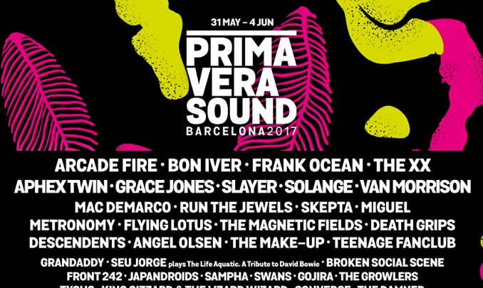 Auch im Kleingedruckten sind noch große Künstler versteckt, beim Primavera Sound Festival 2017.