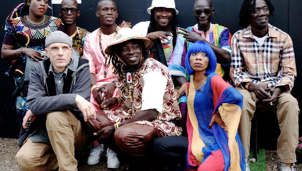 """Alien Disko"" mit Mark Ernestus' Ndagga Rhythm Force."