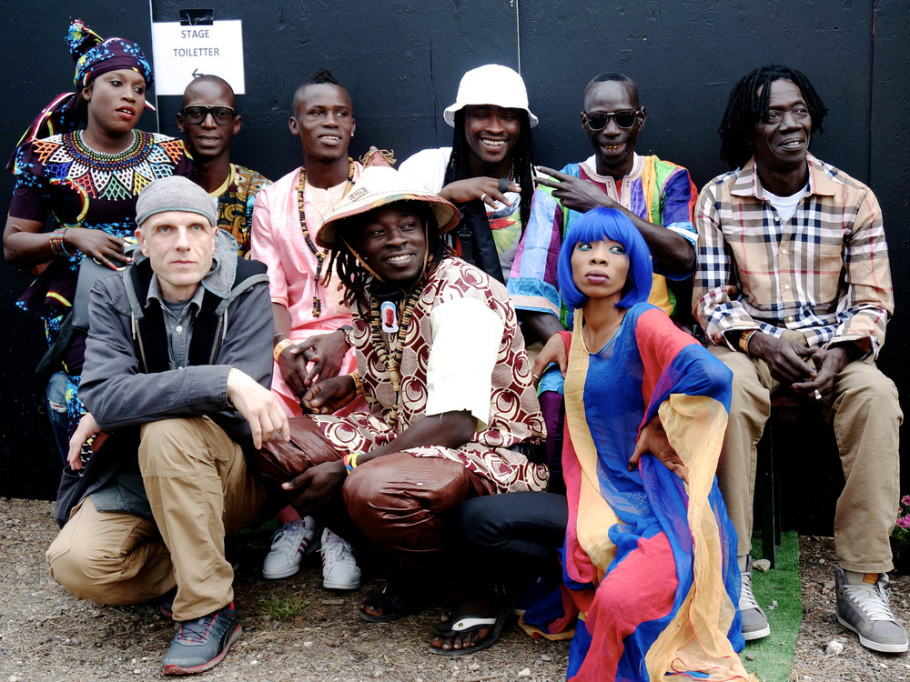 """Alien Disko"" mit Mark Ernestus' Ndagga Rhythm Force."