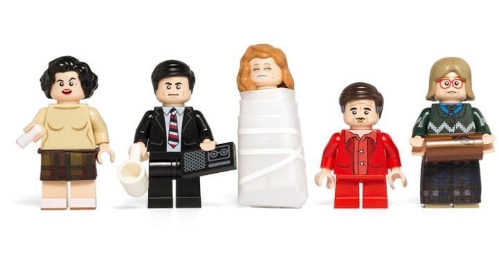 """Die """"Twin Peaks""""-Figuren aus Lego lassen sich bestimmt gut mit der Polizeistation kombinieren."""