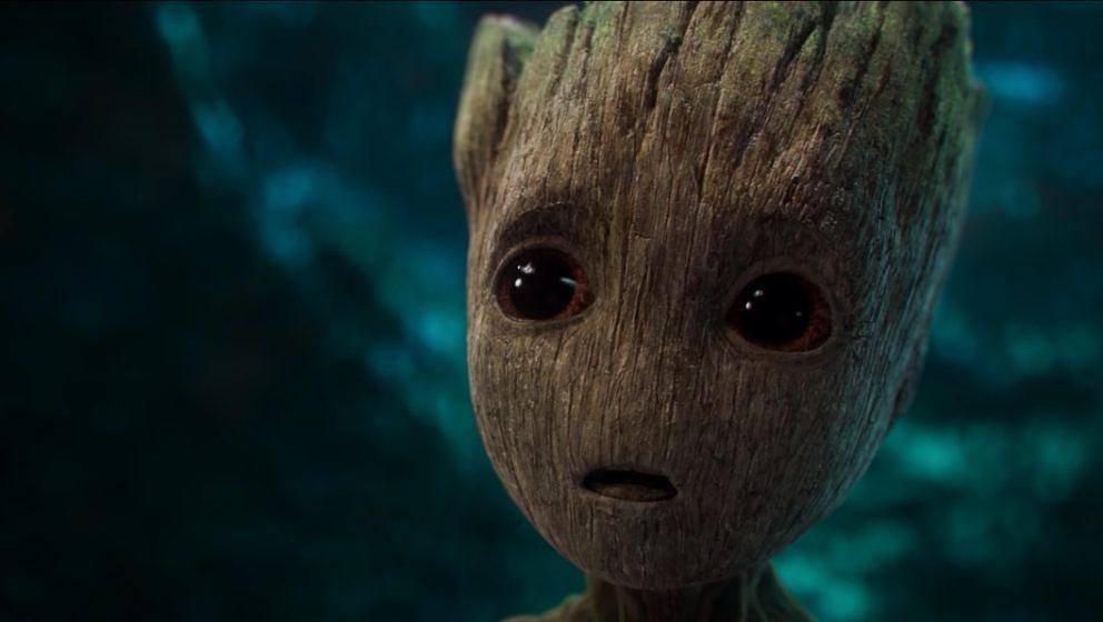 """Baby Groot ist der Szenendieb im ersten langen Trailer zu """"Guardians of the Galaxy""""."""
