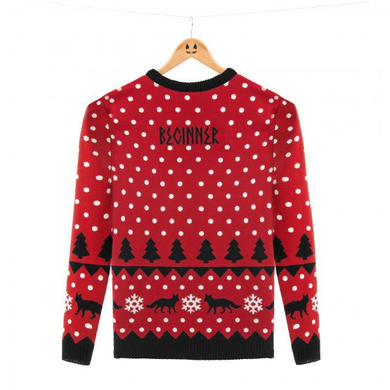 Gar nicht mal so hässlich, aber dafür teuer: Der Weihnachtspullover der Beginner.