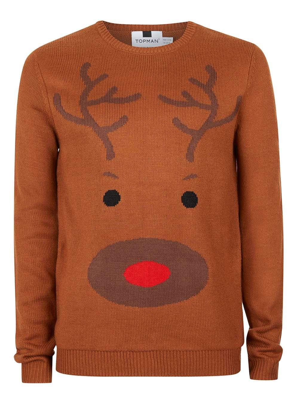 christmas-sweater-topman-braunes-rentier