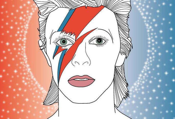 Erinnerung an eine Ikone der Popwelt: David Bowie