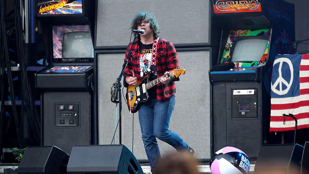 SAN FRANCISCO, CA - AUGUST 07: Musician Ryan Adams of Ryan Adams and The Shining performs on the Sutro Stage during the 2016 Outside Lands Music And Arts Festival at Golden Gate Park on August 7, 2016 in San Francisco, California. (Photo by FilmMagic/FilmMagic)