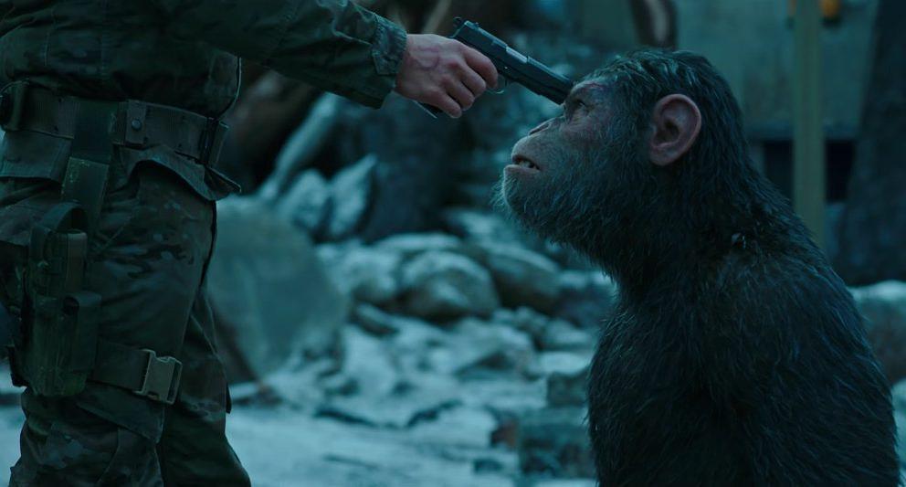 Mensch gegen Tier. Simple Handlung, großes Kino.